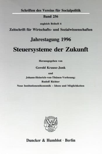 Cover: Steuersysteme der Zukunft