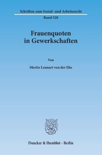 Cover: Frauenquoten in Gewerkschaften