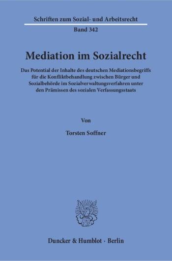 Cover: Mediation im Sozialrecht