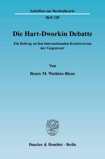 Cover: Die Hart-Dworkin Debatte