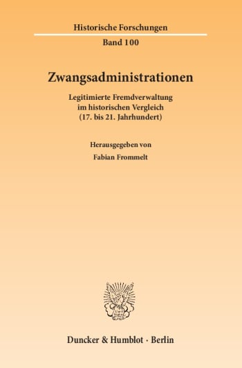 Cover: Zwangsadministrationen