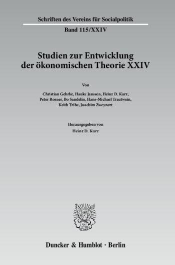 Cover: Wechselseitige Einflüsse zwischen dem deutschen wirtschaftswissenschaftlichen Denken und dem anderer europäischer Sprachräume