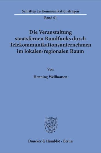 Cover: Schriften zu Kommunikationsfragen (SKF)
