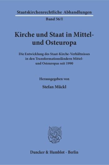 Cover: Kirche und Staat in Mittel- und Osteuropa