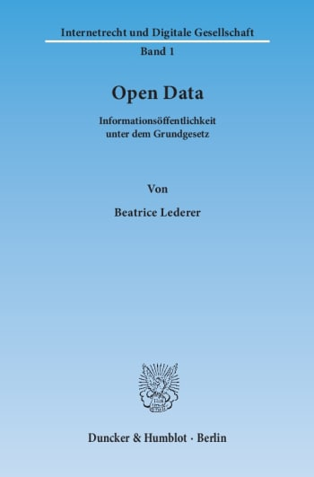 Cover: Open Data