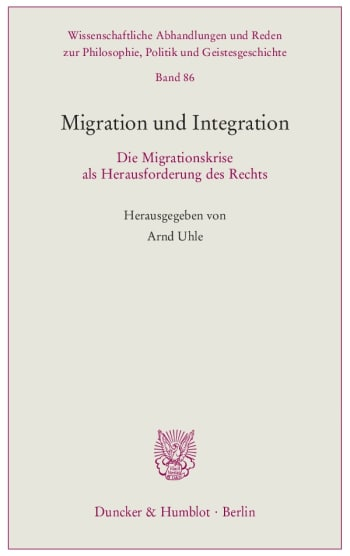 Cover: Migration und Integration