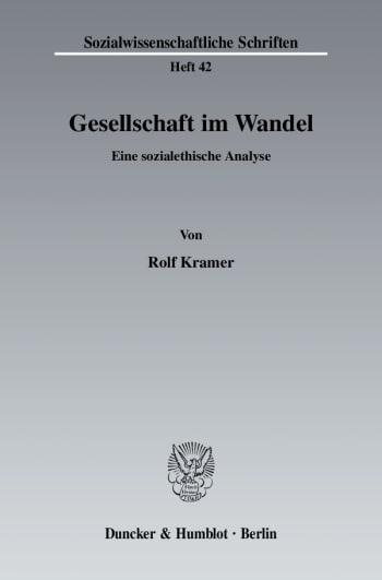 Cover: Gesellschaft im Wandel