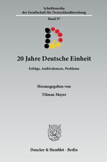 Cover: 20 Jahre Deutsche Einheit