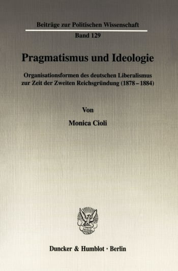 Cover: Pragmatismus und Ideologie