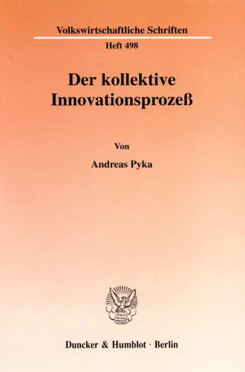 Cover: Der kollektive Innovationsprozeß