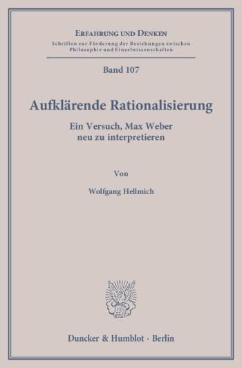 Cover: Aufklärende Rationalisierung