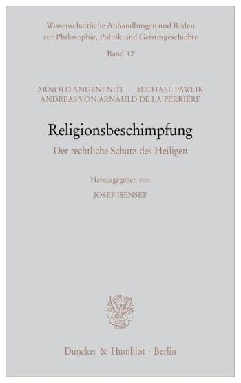 Cover: Religionsbeschimpfung