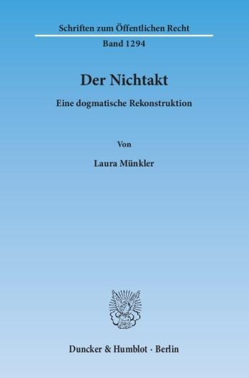 Cover: Der Nichtakt