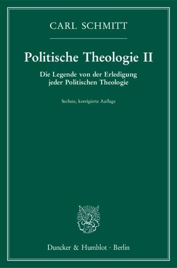 Cover: Politische Theologie II