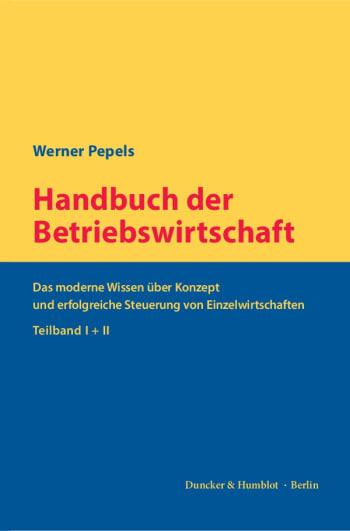 Cover: Handbuch der Betriebswirtschaft