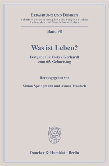 Cover: Was ist Leben?