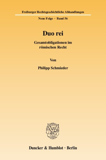 Cover: Duo rei