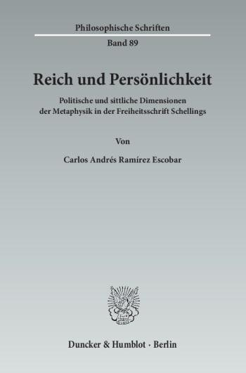 Cover: Reich und Persönlichkeit