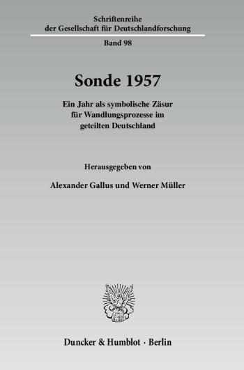 Cover: Sonde 1957