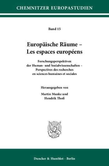 Cover: Europäische Räume – Les espaces européens