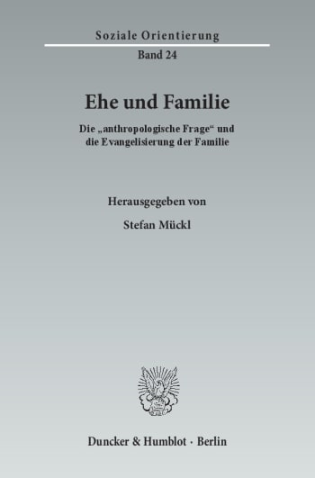Cover: Ehe und Familie