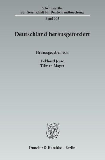Cover: Deutschland herausgefordert