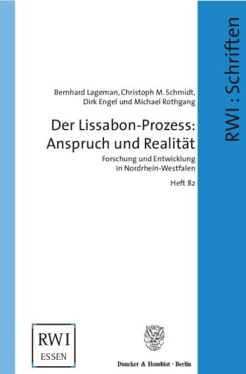 Cover: Der Lissabon-Prozess: Anspruch und Realität