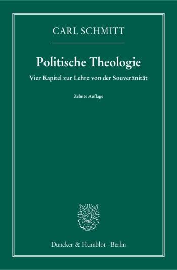 Cover: Politische Theologie
