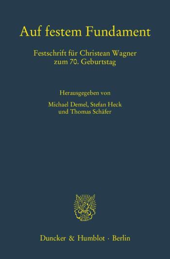 Cover: Auf festem Fundament