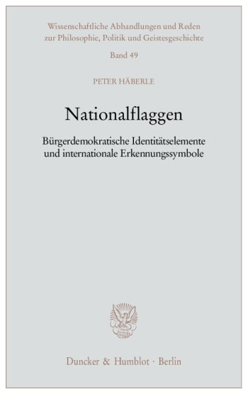 Cover: Nationalflaggen