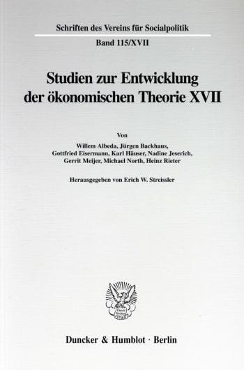 Cover: Die Umsetzung wirtschaftspolitischer Grundkonzeptionen in die kontinentaleuropäische Praxis des 19. und 20. Jahrhunderts, II. Teil