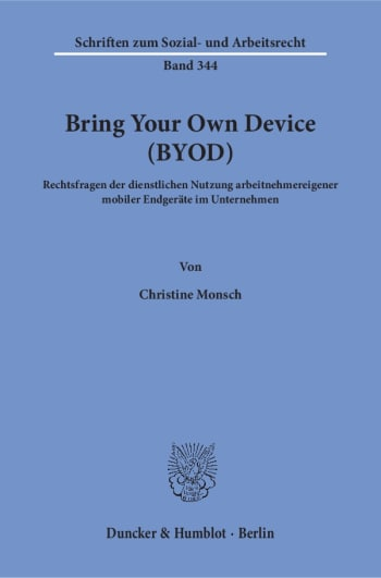 Cover: Bring Your Own Device (BYOD)