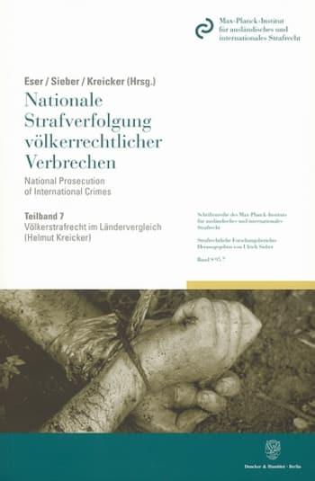 Cover: Völkerstrafrecht im Ländervergleich