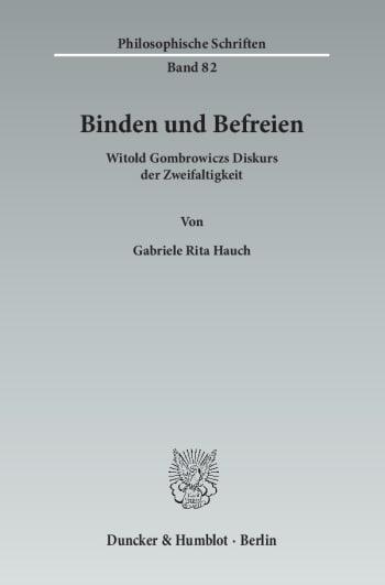 Cover: Binden und Befreien