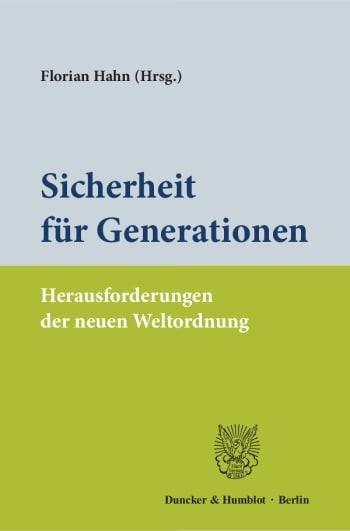 Cover: Sicherheit für Generationen