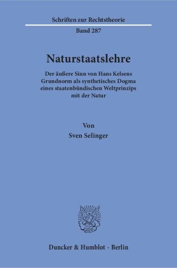 Cover: Naturstaatslehre