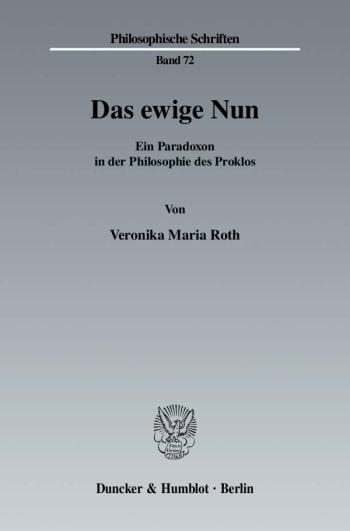 Cover: Das ewige Nun