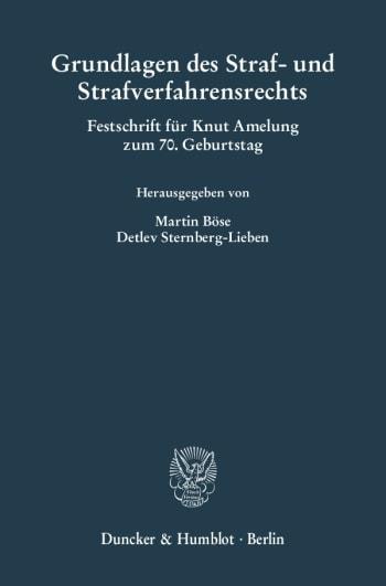 Cover: Grundlagen des Straf- und Strafverfahrensrechts