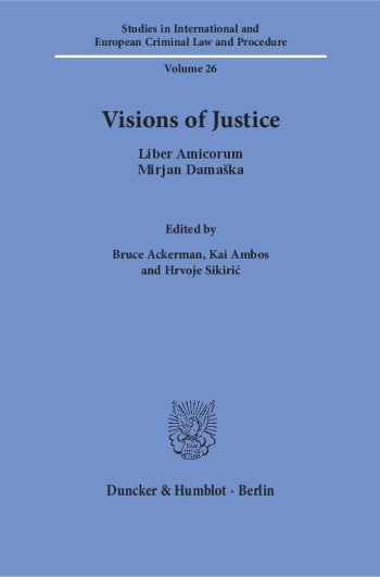 Cover: Visions of Justice