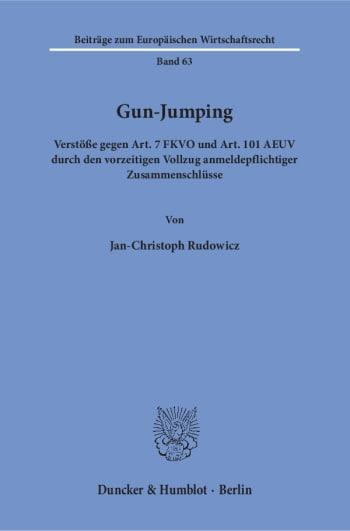 Cover: Gun-Jumping