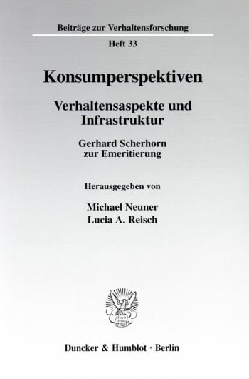 Cover: Konsumperspektiven