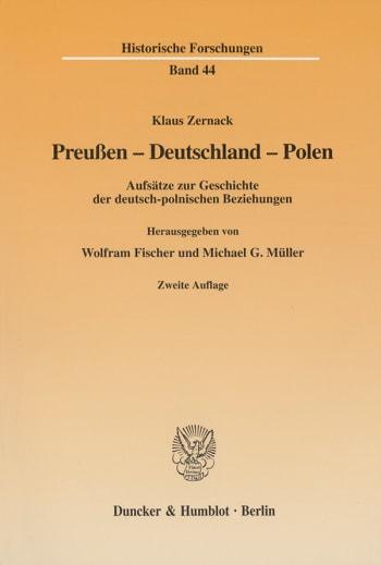 Cover: Preußen - Deutschland - Polen
