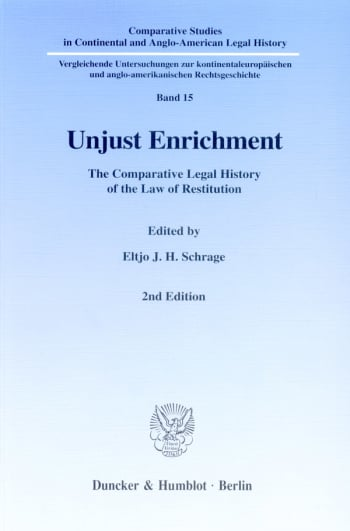 Cover: Unjust Enrichment