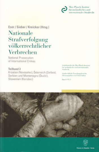 Cover: Nationale Strafverfolgung völkerrechtlicher Verbrechen / National Prosecution of International Crimes