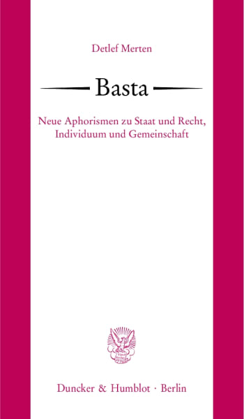 Cover: Basta