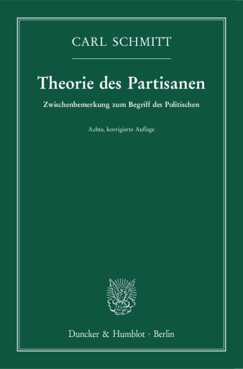 Cover: Theorie des Partisanen
