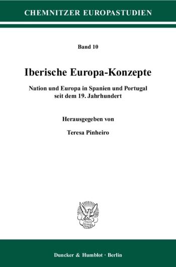 Cover: Iberische Europa-Konzepte