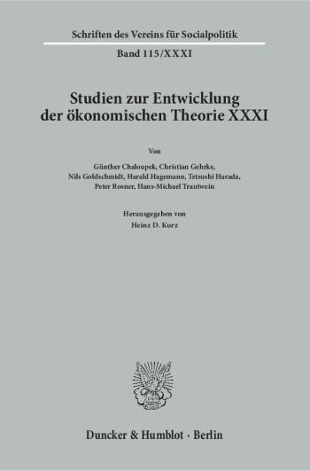 Cover: Geschichte der Entwicklungstheorien