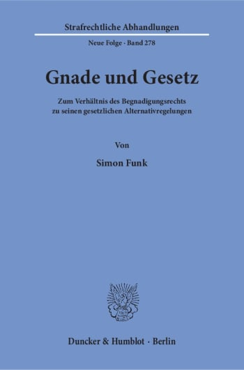 Cover: Gnade und Gesetz
