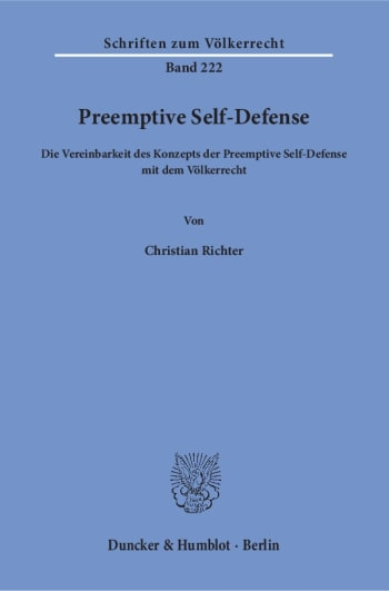 Cover: Preemptive Self-Defense
